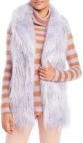 Alysi Faux Fur Vest