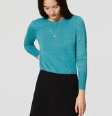 LOFT Puff Sleeve Sweater