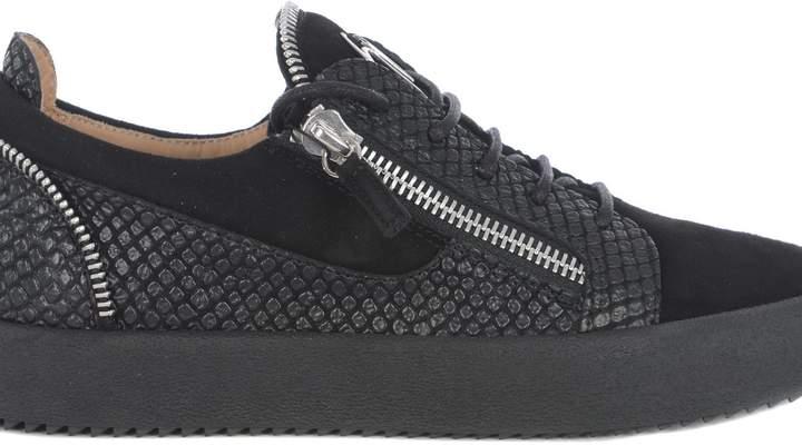 Giuseppe Zanotti Side Zipped Sneakers