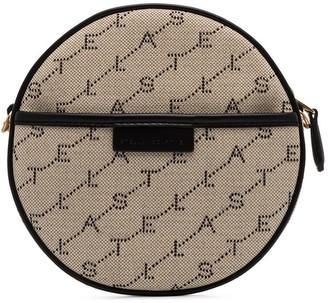 Stella McCartney Mini Round Monogram Canvas Bag