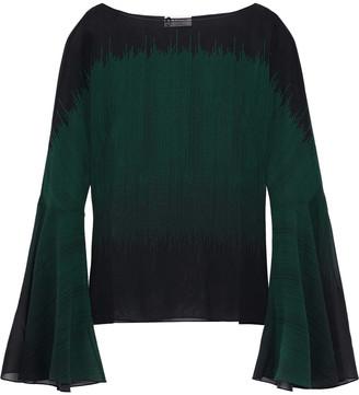 Lanvin Printed Silk-georgette Blouse