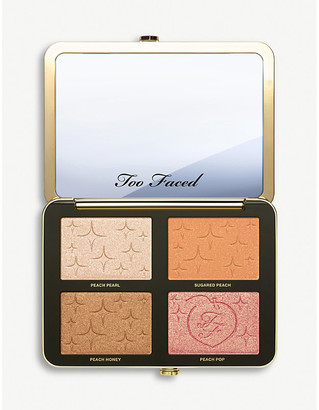 Too Faced Sugar Peach wet and dry face and eye palette 19.28g