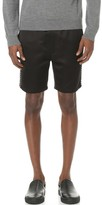 Marc Jacobs Satin Piped Shorts