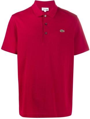 Lacoste logo short-sleeve polo shirt