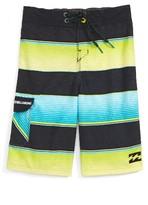 Billabong Toddler Boy's All Day Stripe Board Shorts