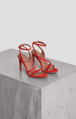 BCBGMAXAZRIA Amilia Leather Ankle Strap Sandal
