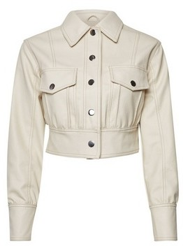 Dorothy Perkins Womens Lola Skye Ecru Stich Jacket