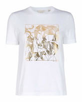 Ted Baker Robyyin Endangered Animals Cotton T-Shirt
