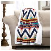 "Lush Decor Navy - Throw Blankets (60""x 50"")"
