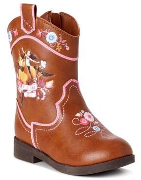 Spirit Riding Free Western Character Cowboy Boot (Toddler Girls)