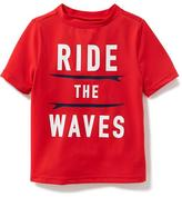 "Old Navy ""Ride the Waves"" Rashguard for Toddler Boys"