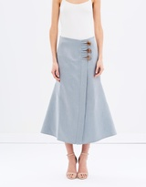 CHRISTOPHER ESBER Fossiled Resin Skirt