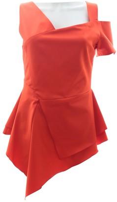 Antonio Berardi Red Wool Top for Women