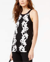 INC International Concepts Embroidered Top, Created for Macy's