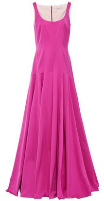 Emilia Wickstead Amita Pleated Cotton-blend Faille Gown