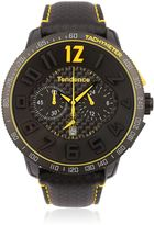 Tendence Carbon Fiber Chr Black & Yellow Watch