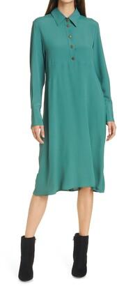 SEVENTY VENEZIA Long Sleeve Shirtdress