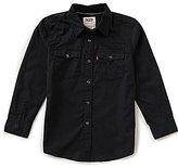 Levi's s 8-20 Barstow Western Denim Shirt