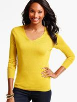 Talbots Merino Wool V-Neck Sweater