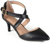 Journee Collection Women's Riva Pointed Toe Moatte Pumps -