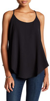 Romeo & Juliet Couture Ruffled Split Back Tank