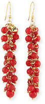 Rosantica Grappolo Beaded Dangle Drop Earrings