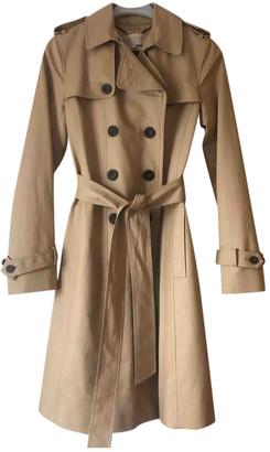 Hobbs Beige Cotton Coat for Women