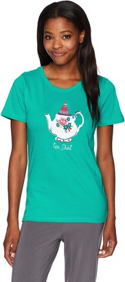 Hatley Little Blue House by Women's Classic Pajama Tees