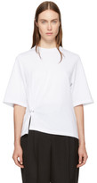 3.1 Phillip Lim White Side Piercing T-shirt