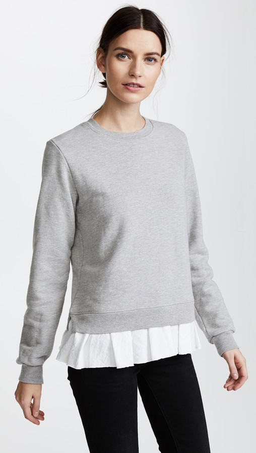 Clu Too Ruffled Sweatshirt
