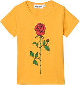 Mini Rodini Yellow Rose Tee