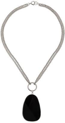 Isabel Marant necklace with large stone pendant