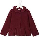 Il Gufo floral collar jacket - kids - Polyester/Viscose - 2 yrs