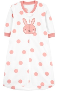 Carter's Baby Girls Bunny Rabbit Fleece Sleep Bag