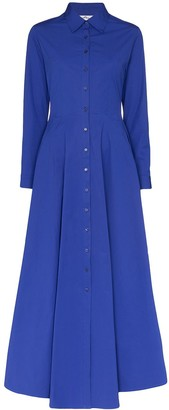 Evi Grintela Marjorelle maxi shirt dress