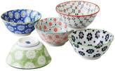 Noritake 5 Piece Porcelain Bowl Set