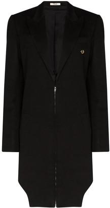 Zilver Zip-up coat