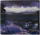 Givenchy Multicolor Blue Hawaii Wallet