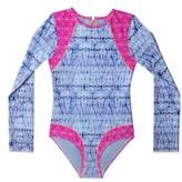 Gossip Girl Girl's Queen Long Sleeve One-Piece Swimsuit