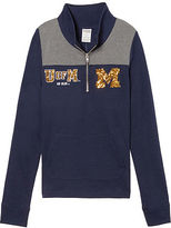 Victoria's Secret Victorias Secret University Of Michigan Perfect Quarter-Zip