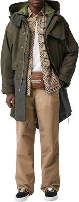 Burberry Hooded Techno Coat