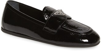 Prada Logo Loafer