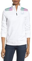 Vineyard Vines Women's Derby Shep Quarter Zip Pullover