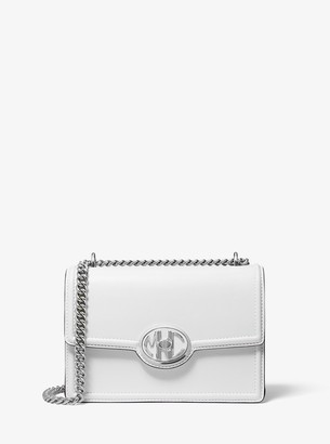 Michael Kors Monogramme Leather Chain Shoulder Bag