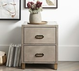 Pottery Barn Morrison Leather Nightstand
