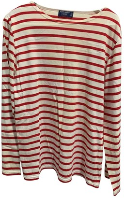 Saint James Red Cotton Top for Women