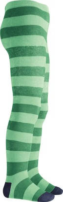Playshoes Girl's Thermostrumpfhose Blockringel Tights