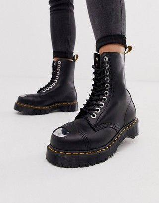 Dr. Martens 8761 BXB leather ankle boots in black