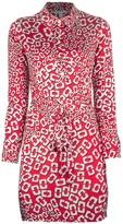 Diane von Furstenberg 'Leanna' shirt dress