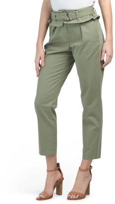 Malia High Waist Paper Bag Trousers